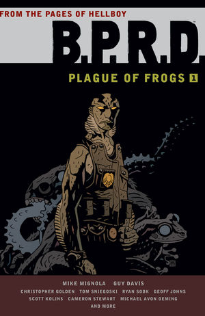 bprd plague of frogs 1